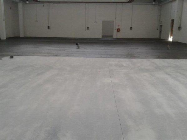 capannone milano pavimenti resina